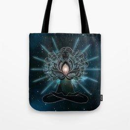 Emanate love Chakra Tote Bag