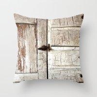 birch Throw Pillows featuring Birch by ChristyVegas