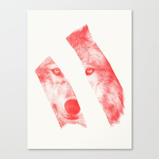 Red - by Eric Fan and Garima Dhawan  Canvas Print