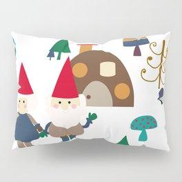 Gnome white Pillow Sham