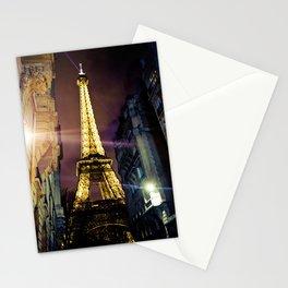 Paris La Nuit Stationery Cards
