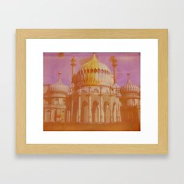 Brighton Royal Pavilion Framed Art Print
