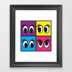 EYES! Framed Art Print
