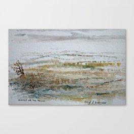 Winter On The Fells Canvas Print