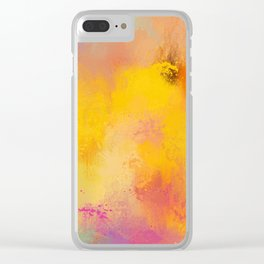 Expressions 25 Clear iPhone Case