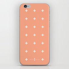Peach Cross // Peach Plus iPhone & iPod Skin