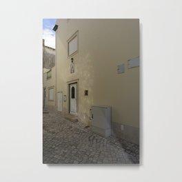 Nazare Front Door Metal Print