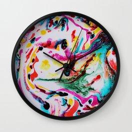 Creative Chaos Wall Clock