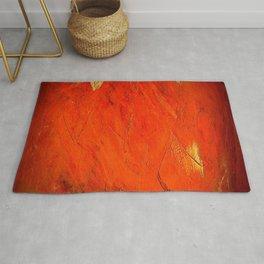 Rustic Orange Painted Stucco - Corbin Henry Rug