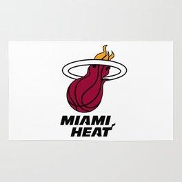 Heat Logo Rug