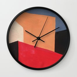 Building section Wall Clock