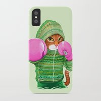 ashton irwin iPhone & iPod Cases featuring BOXING CAT 4 by Tummeow