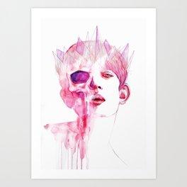 CROWNS Art Print