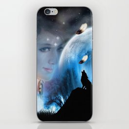 Sounds of the Dream_Catcher iPhone Skin