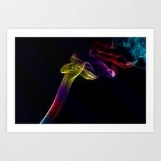 Smokey 10 Art Print