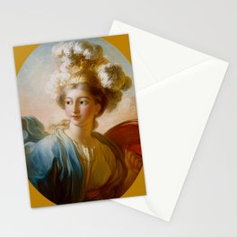 "Jean-Honoré Fragonard ""The Goddess Minerva"" Stationery Cards"