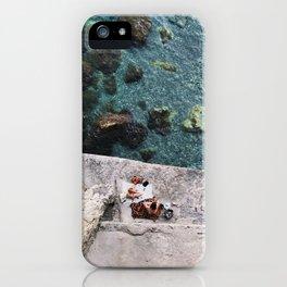 Secret Picnic, Amalfi iPhone Case
