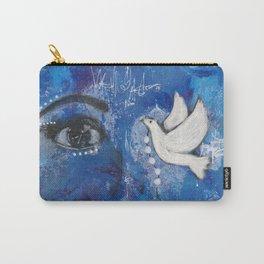 Come Thru Dove Carry-All Pouch