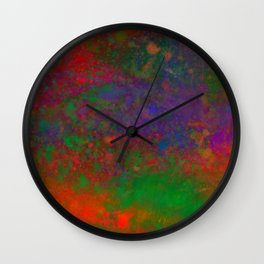 Last Sunset Wall Clock