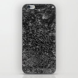 cracked cell phone #1 iPhone Skin