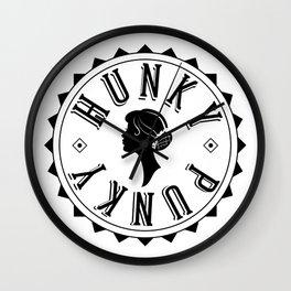 Hunky Punky - Tete #2 Wall Clock