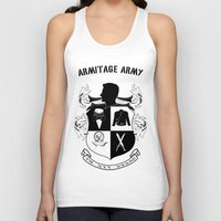 army Tank Tops featuring Armitage Army by Circus Doll