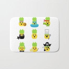 Pineapple Party! Bath Mat