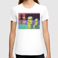 tiki T-shirts featuring Tiki by Vaporware
