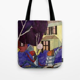 Dead End Frog Kids Tote Bag
