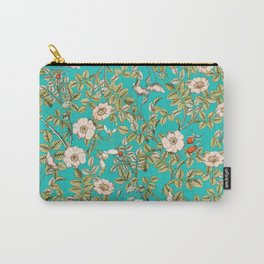 Teal Botanical #society6 #decor #buyart Carry-All Pouch