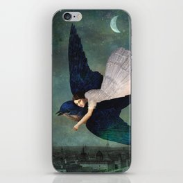 fly me to paris iPhone Skin