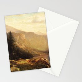 An Artist S View Of Mt Lafayette 1871 By Thomas Hill | Reproduction Stationery Cards