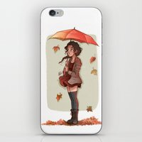 laia iPhone & iPod Skins featuring Autumn by Laia™
