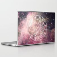 sacred geometry Laptop & iPad Skins featuring Sacred Geometry Universe 3 by Gaudy