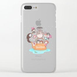 Ghibli Collection Clear iPhone Case