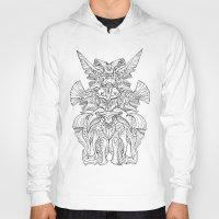 kaiju Hoodies featuring Kaiju Emblem by ECTmonster
