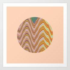 Fade A01 Art Print