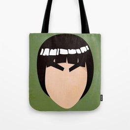 Rock Lee Simplistic Face Tote Bag