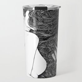 asc 590 - Le peigne (Combing her hair) Travel Mug