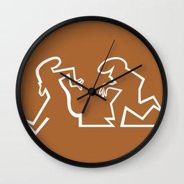 La Linea 1 Wall Clock