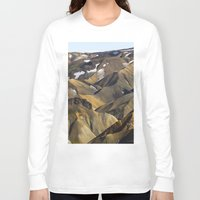 iceland Long Sleeve T-shirts featuring ICELAND II by Gerard Puigmal