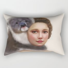 Miss Koala Rectangular Pillow