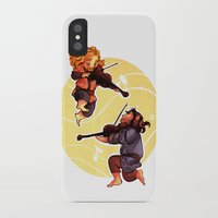 kili iPhone & iPod Cases featuring Fiddling Fili and Kili by quelm