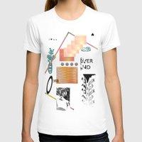 tits T-shirts featuring I love tits (overandover) by Marta Veludo