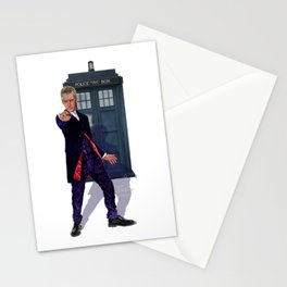 12th Doctor Stationery Cards