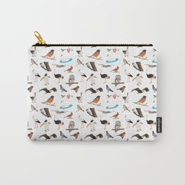 Various Birds Carry-All Pouch