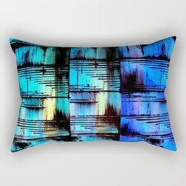 Blue Friends (7) Rectangular Pillow