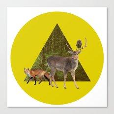 Forest Creatures Canvas Print