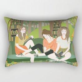 Book Club Rectangular Pillow