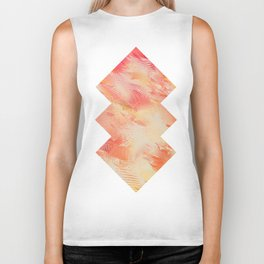 Feathers abstraction Biker Tank